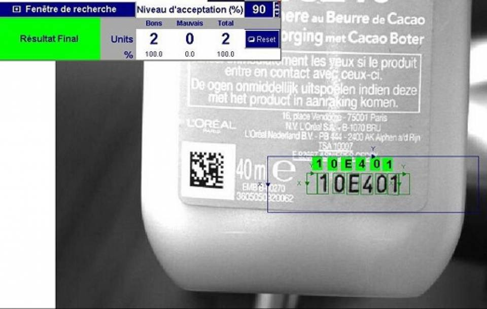 Industrial Vision Technology for FMCG, Food & Beverage, Electronics and Cosmetics industries.